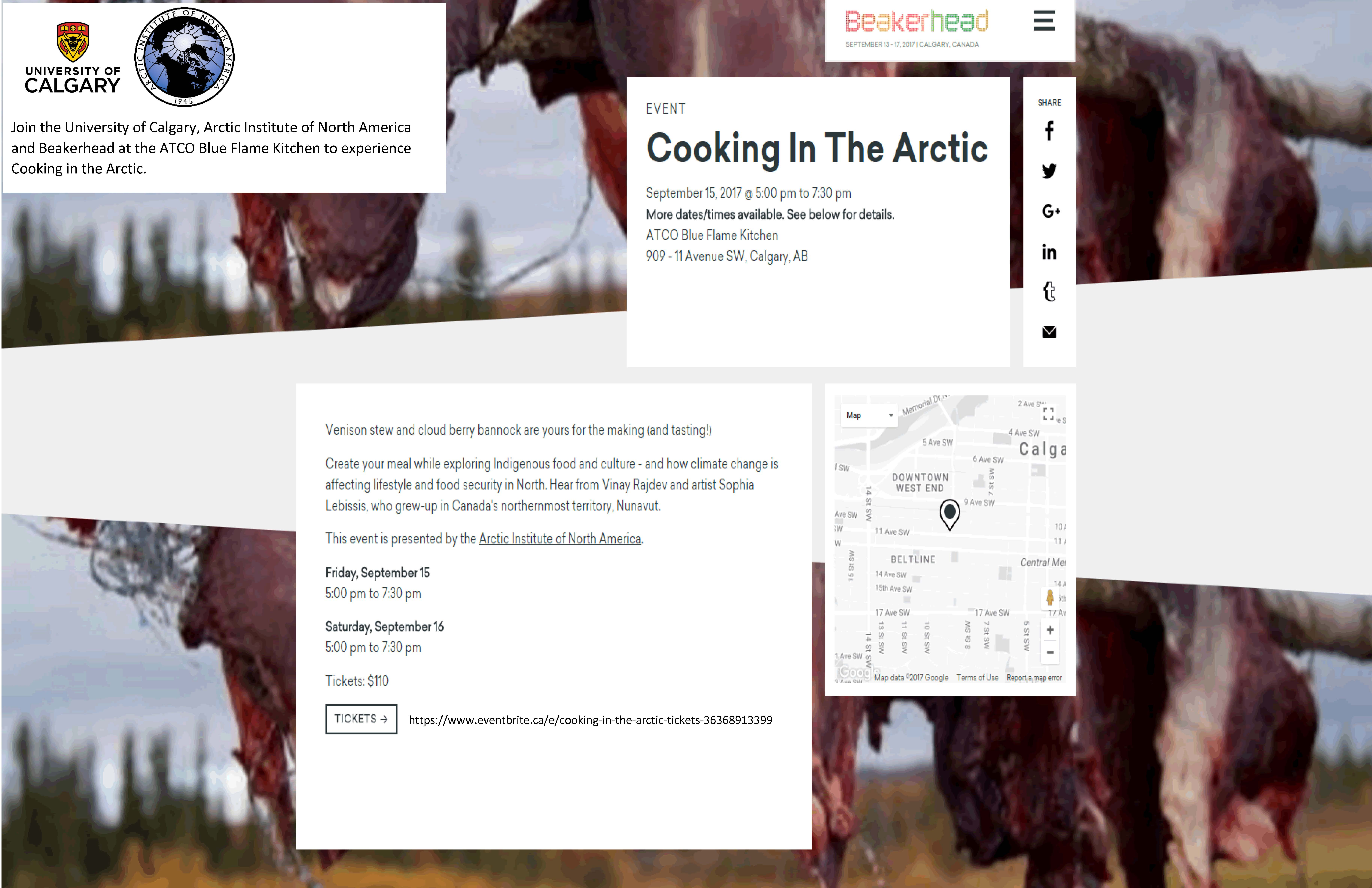 Arctic Cooking