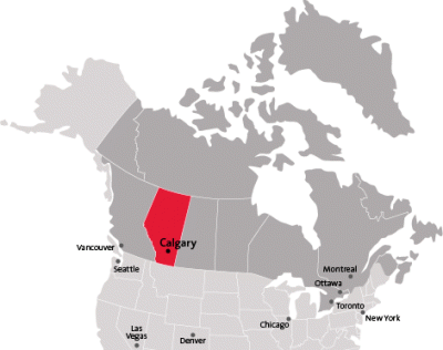 Calgary Canada Map Of North America.Travel Arctic Institute Of North America