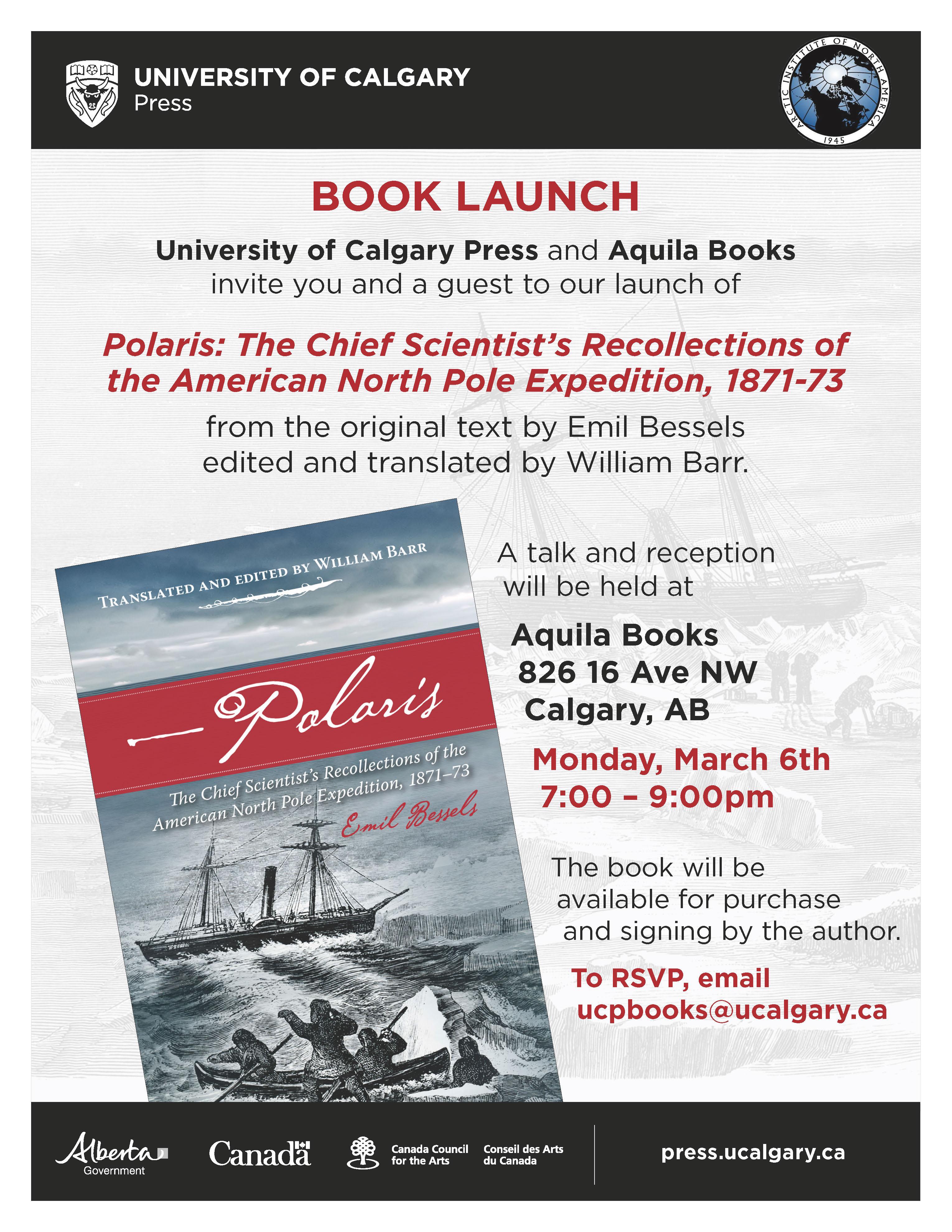Polaris Book Launch